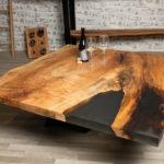 Maple Epoxy Coffee Table